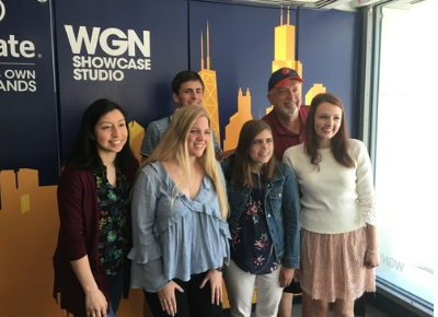 Reality Teens at WGN studio on the Steve Cochran show advocating Tobacco 21