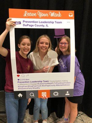 Instagram of Prevention Leadership Team