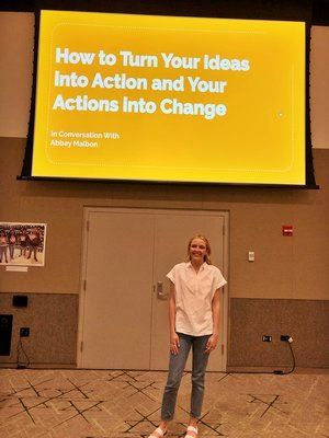 Presentation - How to turn your ideas into action and your actions into change